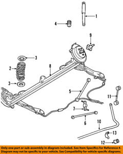 details about chrysler oem 08 10 pt cruiser rear axle axle assy 4656440an 2008 Lincoln MKX Engine Diagram