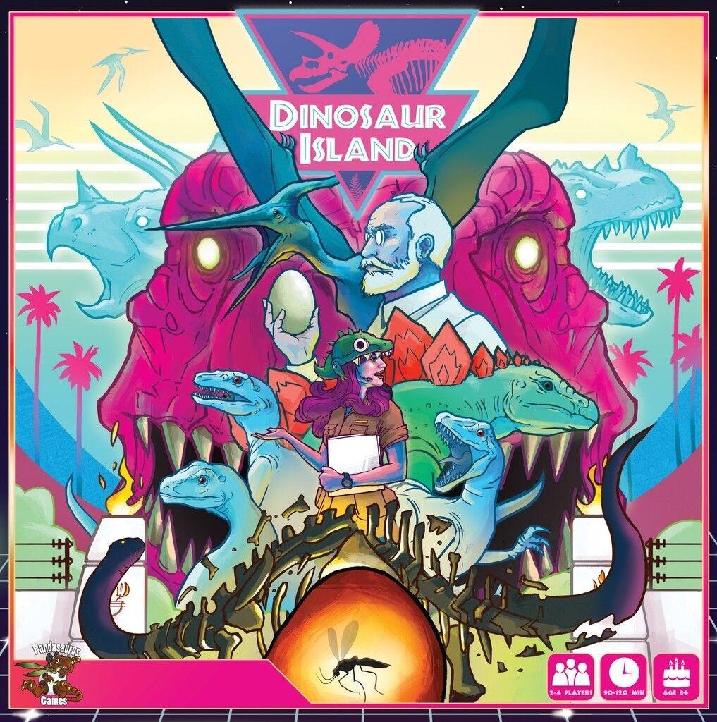 Dinosaur Island - Pandaraurus Games - New Board Game