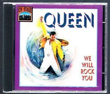 QUEEN WE WILL ROCK YOU CD ON STAGE   F.C.