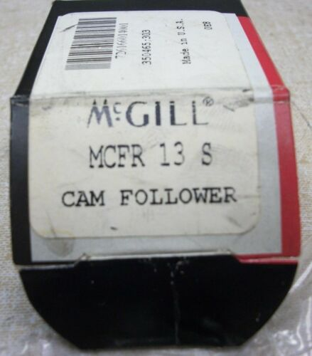 McGill MCFR 13S Chrome Steel Crowned Cam Follower