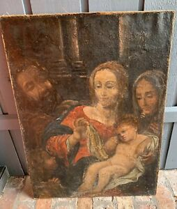 Mystery-Artist-C-16th-Century-Large-Original-Religious-Work-Antique