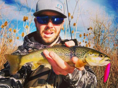Dynamic Lures HD Trout Trout Fishing Lure Bubble Gum