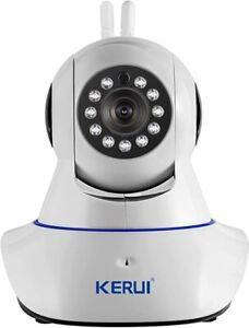 High Definition Network Camera N62 & 1 PIR Detector w 4 Wireless Door Sensors