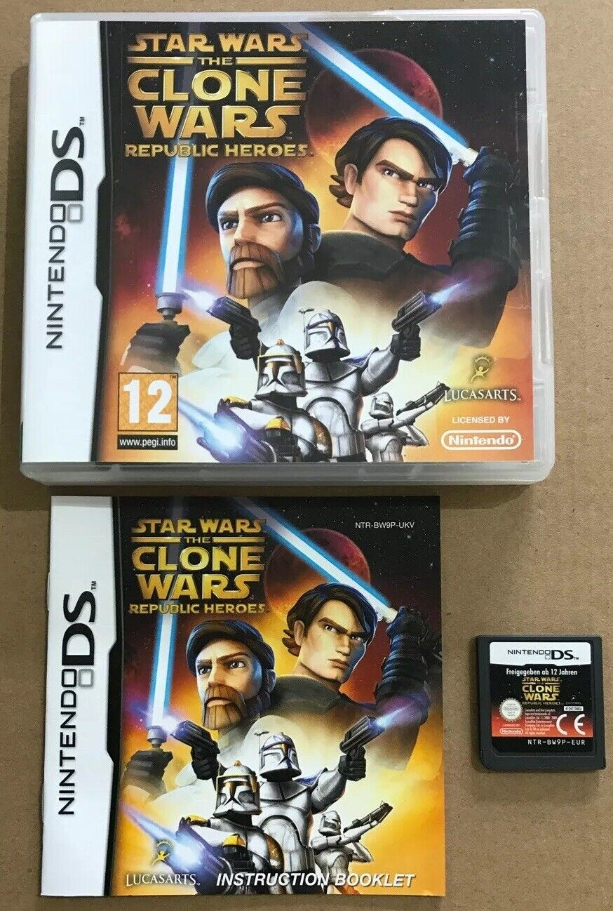 Star Wars The Clone Wars Republic Heroes Game - pas cher StarWars