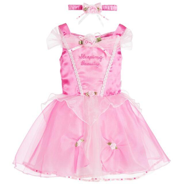 f59cdb4d846 Disney Princess Sleeping Beauty Baby Toddler Dress up Costume Birthday  Party 12-18 Months
