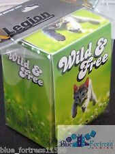 LEGION SUPPLIES DECK BOX CARD BOX WILD AND FREE KITTEN FOR MTG WoW POKEMON CARDS