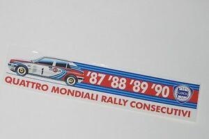 Lancia Integrale Aufkleber Quadro Mondiali Martini Um Das KöRpergewicht Zu Reduzieren Und Das Leben Zu VerläNgern Delta Integrale Aufkleber