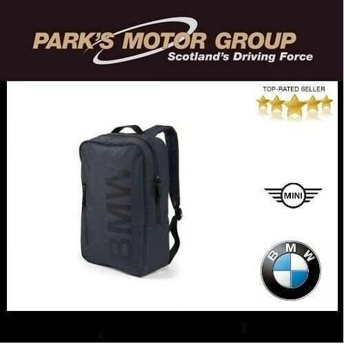 BMW Genuine Main Collection Sport Modern BMW Logo Backpack in Blue 80222454685