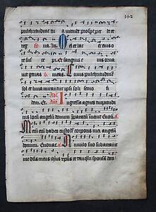 Collection Here Antiphonar,lithurgische Handschrift,pergament,kÖln,um 1490-1500 Online Discount Antiques