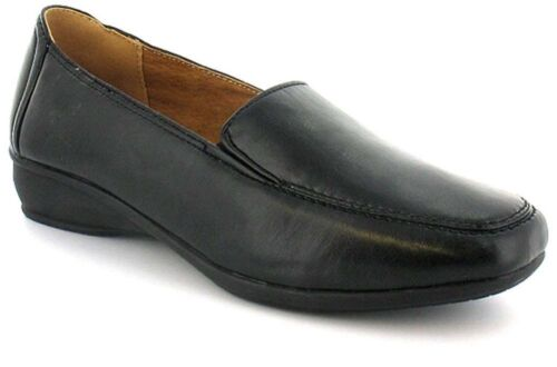 Ladies Dr Keller Sally Wide Fit Casual Slip On Loafer Comfort Leather Lined Shoe