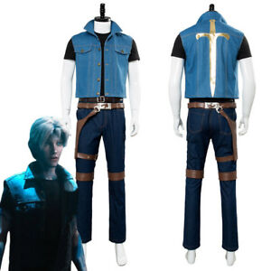 Image is loading Film-Ready-Player-One-Uniform-Wade-Watts-Parzival-  sc 1 st  eBay : cowboy vest costume  - Germanpascual.Com