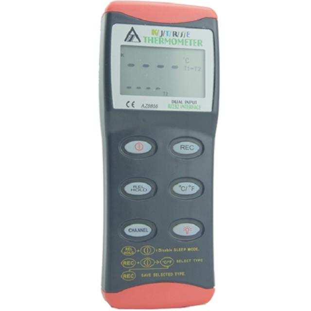 A●AZ8856 Precision Digital Thermometer Temperature Probe Handheld Thermometer