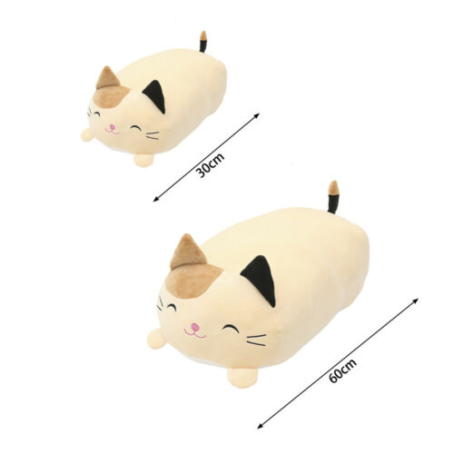 60cm Giocattolo Peluche Gatto Morbido Squishy Chubby Animale Carino Cartoon Cuscino regali