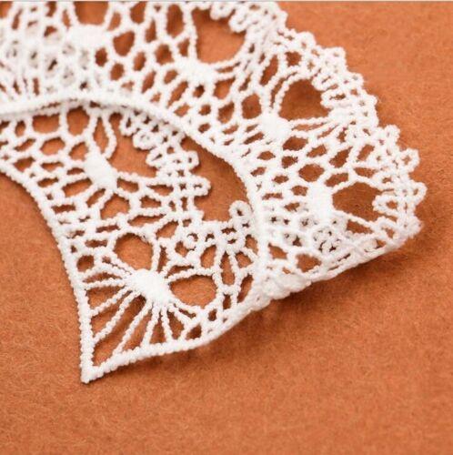 Hágalo usted mismo 4 un Forma de Corazón de Seda de leche bordado encaje y apliques accesorios de vestir