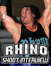 Rhyno Shoot Interview Wrestling DVD,  WWE TNA NXT