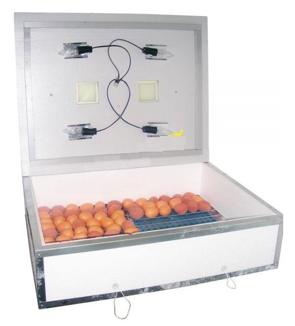 Incubator Nasedka IB 140 for 140 eggs with mechanical overdeurn