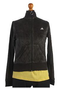 Chaqueta-Retro-Vintage-90s-Adidas-Casuals-Chandal-Top-Gris-pecho-36-034-SW1339