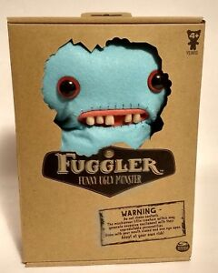 New-Spin-Master-FUGGLER-Mrs-McGettricks-Funny-Ugly-Plush-Teeth-Blue