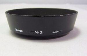 NIKON-HN-3-Metal-Lens-Hood-screw-in-type-for-28mm-f2-0-Nikkor-24mm-Genuine