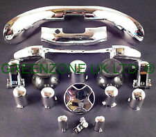 Custom Xbox 360 Controller Buttons ABXY + Guide +Trim Full Mod Kit Silver Chrome