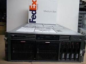 HP-ProLiant-DL585-Server-4x2-2GHz-24GB-4x72GB-SCSI-RAID-Dual-Power-383357-001-G1