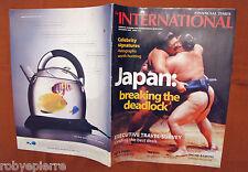 Rivista the INTERNATIONAL financial times Japan breaking deadlock novembre 2000