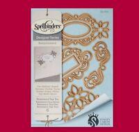 Spellbinders Designer Series S4-600 Shapeabilities Die Renaissance Tags Two