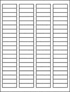 ee938b19e90 50 Sheets 4000 Blank Return Address Labels - 1.75