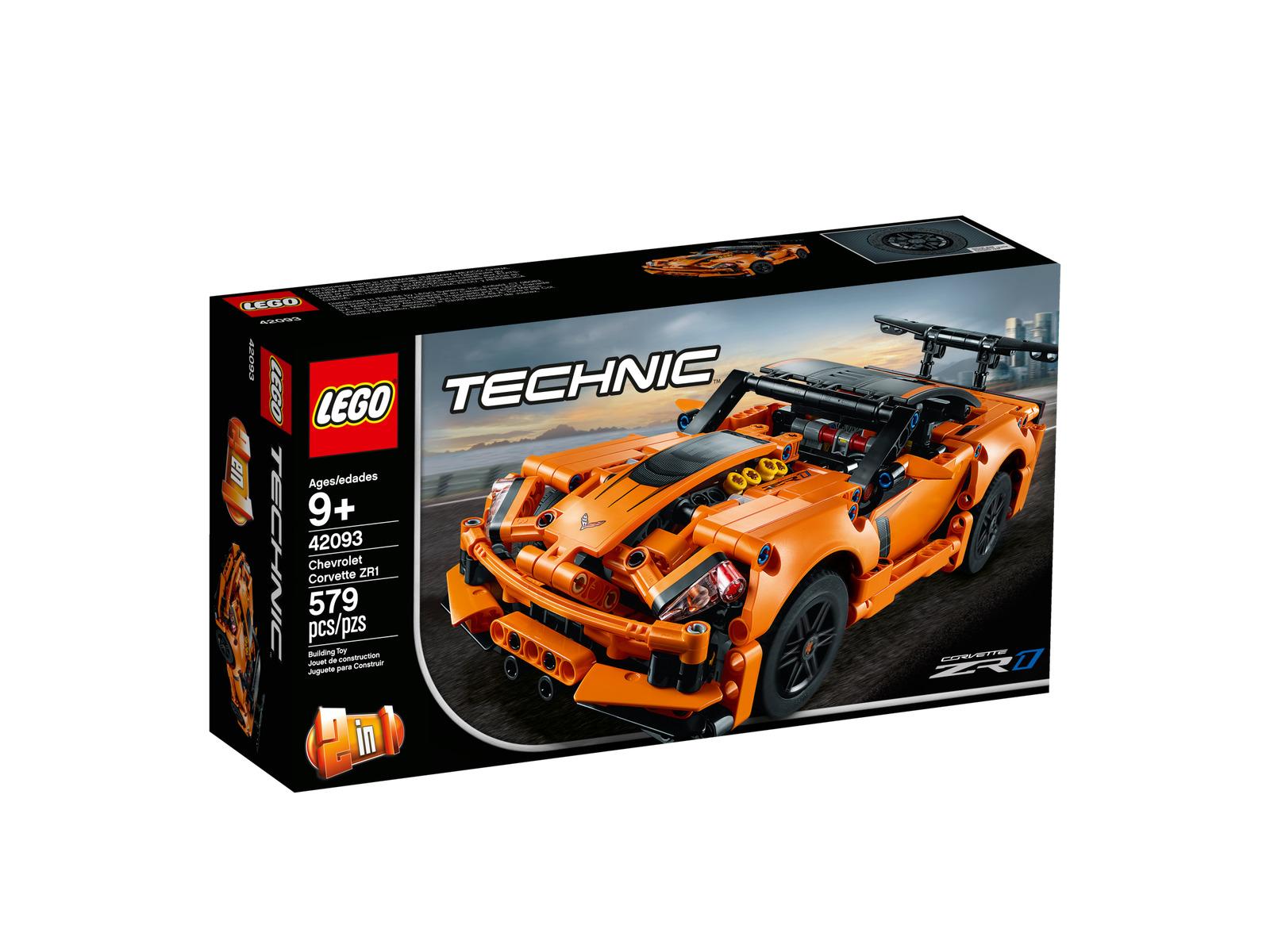 Lego Technic Chevrolet Corvette ZR1 (42093) NEU   OVP