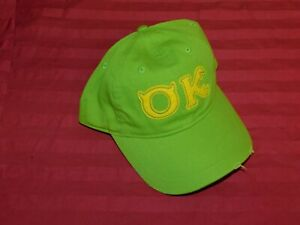 Disney Parks Exclusive Mu Monsters University Oozma Kappa Baseball Cap New Ebay