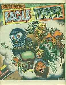 EAGLE & TIGER British comic book May 4, 1985 Dan Dare VG+