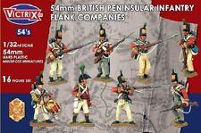 54MM BRITISH NAPOLEONIC PENINSULAR INFANTRY FLANK COMPANIES - VICTRIX-