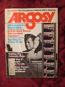 ARGOSY September 1976 Sept Sep 76 JFK Conspiracy CB Radio Carribean Pirates