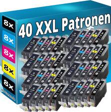 40 PATRONEN SET CHIP für CANON IP3300 IP3500 IP4200 IP5200R IP4300 IP4500 MP970