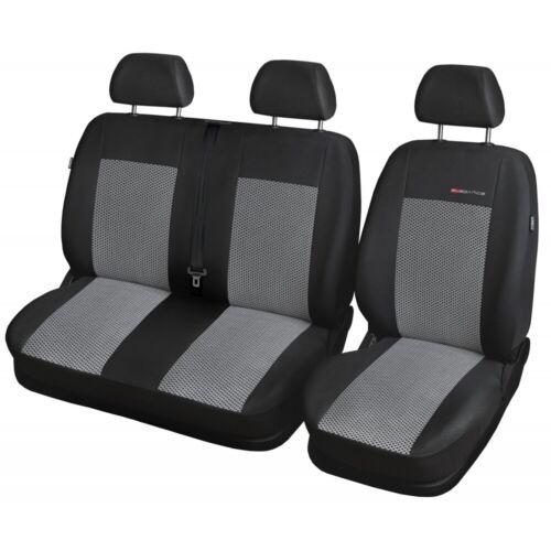 Mercedes Sprinter BUS 2006-2018  2+1 Sitzbezüge Maßgefertigt Maß Sitzbezug P2
