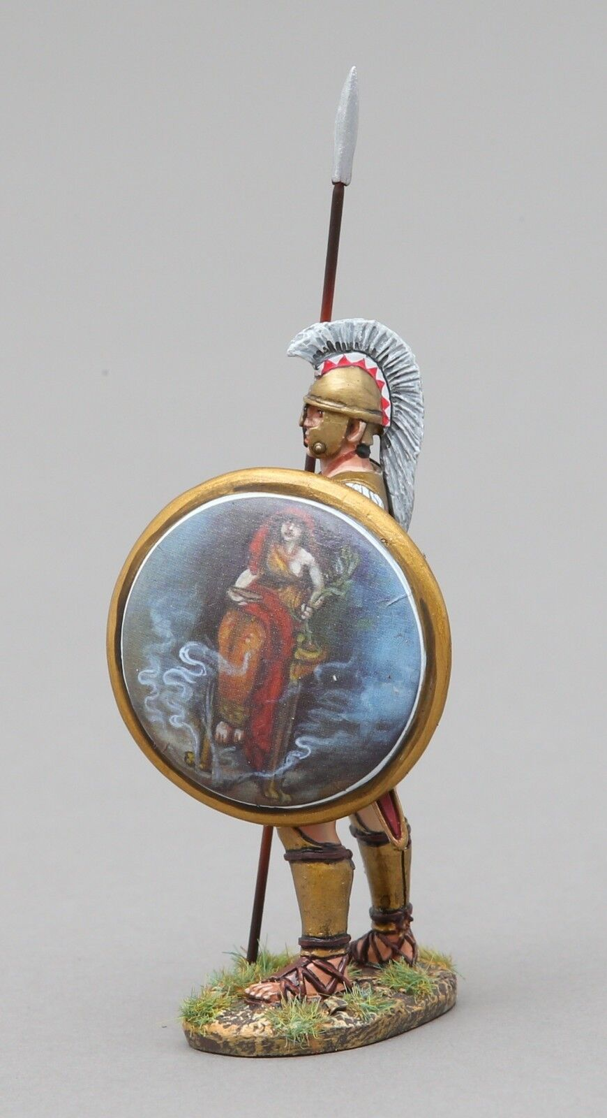 THOMAS GUNN ANCIENT GREEKS & PERSIANS SPA037B HOPLITE SENTRY SOOTHSAY SHIELD MIB