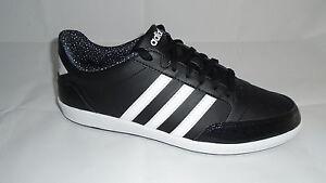 Details zu Adidas Damen Leder Neo Sneaker HOOPS VL Schuhe Lifestyle Fitness  Freizeit Neu -