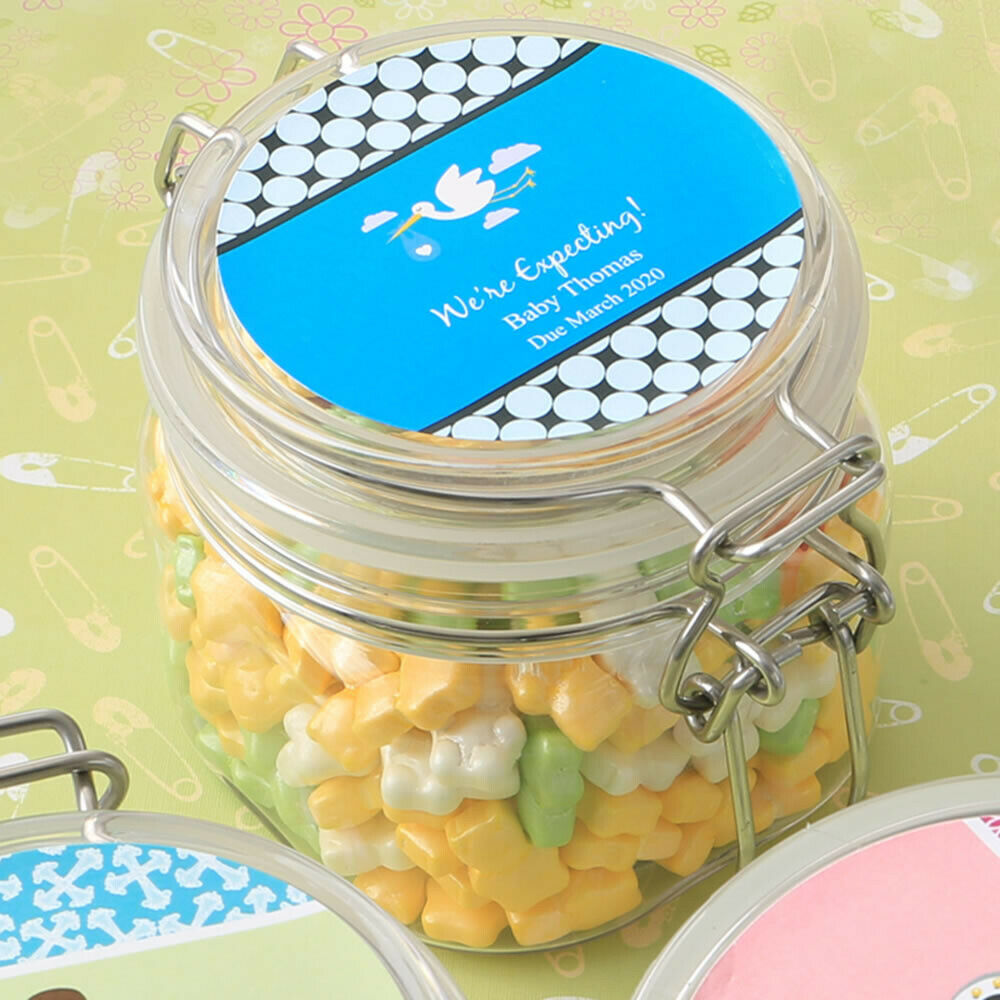 10 Personalized Large Acrylic Candy Apothecary Apothecary Apothecary Jar Wedding Shower Party Favors 3fe9ac