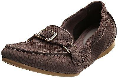 Rockport Women's DEMISA Moccasins Flats Pumps Leather Comfort Loafers UK 5.5