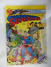 1 x Comic  Superman Batman  Nr.18  mit Sammel Ecke  (Sep 1982)    Z. 1-2