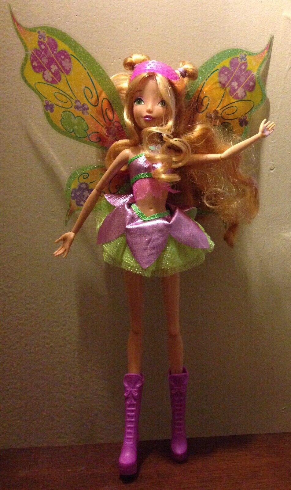 Winx club flora believix, marioneta Nickelodeon.