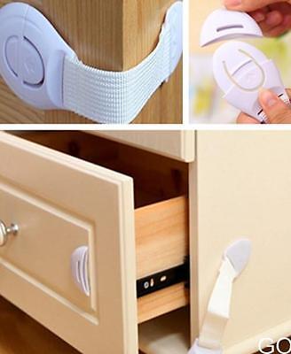 GO CA Child Baby Kids Toddler Safety Fridge Drawer Door Cabinet Cupboard Locks