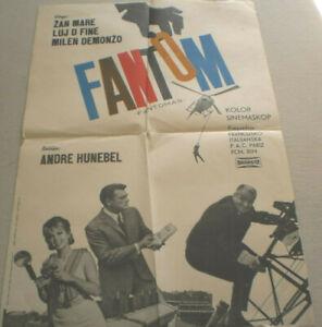 Filmplakat ,FANTOM,FANTOMAS, Louis de Funès #3