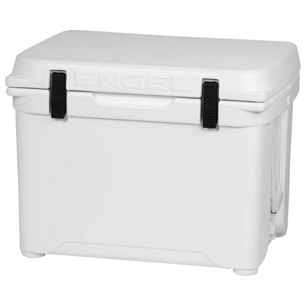 Engel 12 Gallon 60 Can 50 High Performance Seamless Roto Molded Cooler, Weiß