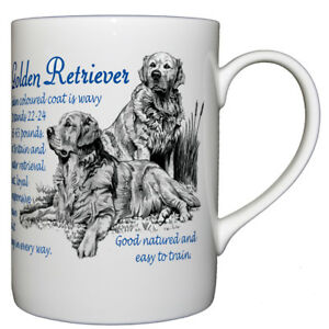 Golden-Retriever-Dog-Breed-Facts-Bone-China-Mug-Ideal-Gift