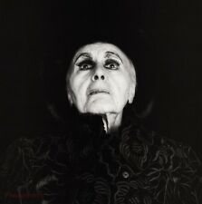 1986 LOUISE NEVELSON Artist Wood Sculptor Feminist Photo Art ROBERT MAPPLETHORPE