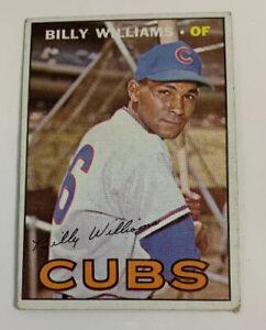 1967 Billy Williams # 315 Chicago Cubs Topps Baseball Card HOF