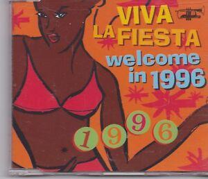 Viva-La-Fiesta-Welcome-In-1996-cd-maxi-single-Eurodance-Belgium