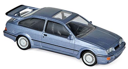 Ford Sierra RS Cosworth 1986-92 blau blue metallic 1:43 Norev