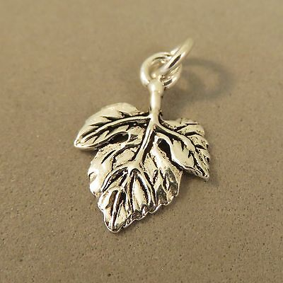 925 Sterling Silver Pendant Canadian Tree Leaves Fall NEW Maple Leaf Charm